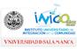 Escudo de la Universidad de Salamanca y del INICO (Instituto Universitario de Integración en la Comunidad)