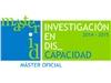 Imagen decorativa de Máster Oficial: Máster universitario en investigación en discapacidad (2014-2015)