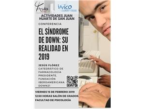 Cartel Conferencia Jesús Florez