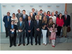 Foto de familia del premio