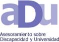 Logotipo de ADU (Asesoramiento sobre Discapacidad y Universidad)
