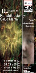 Cartel del Congreso de Rehabilitación y Salud Mental