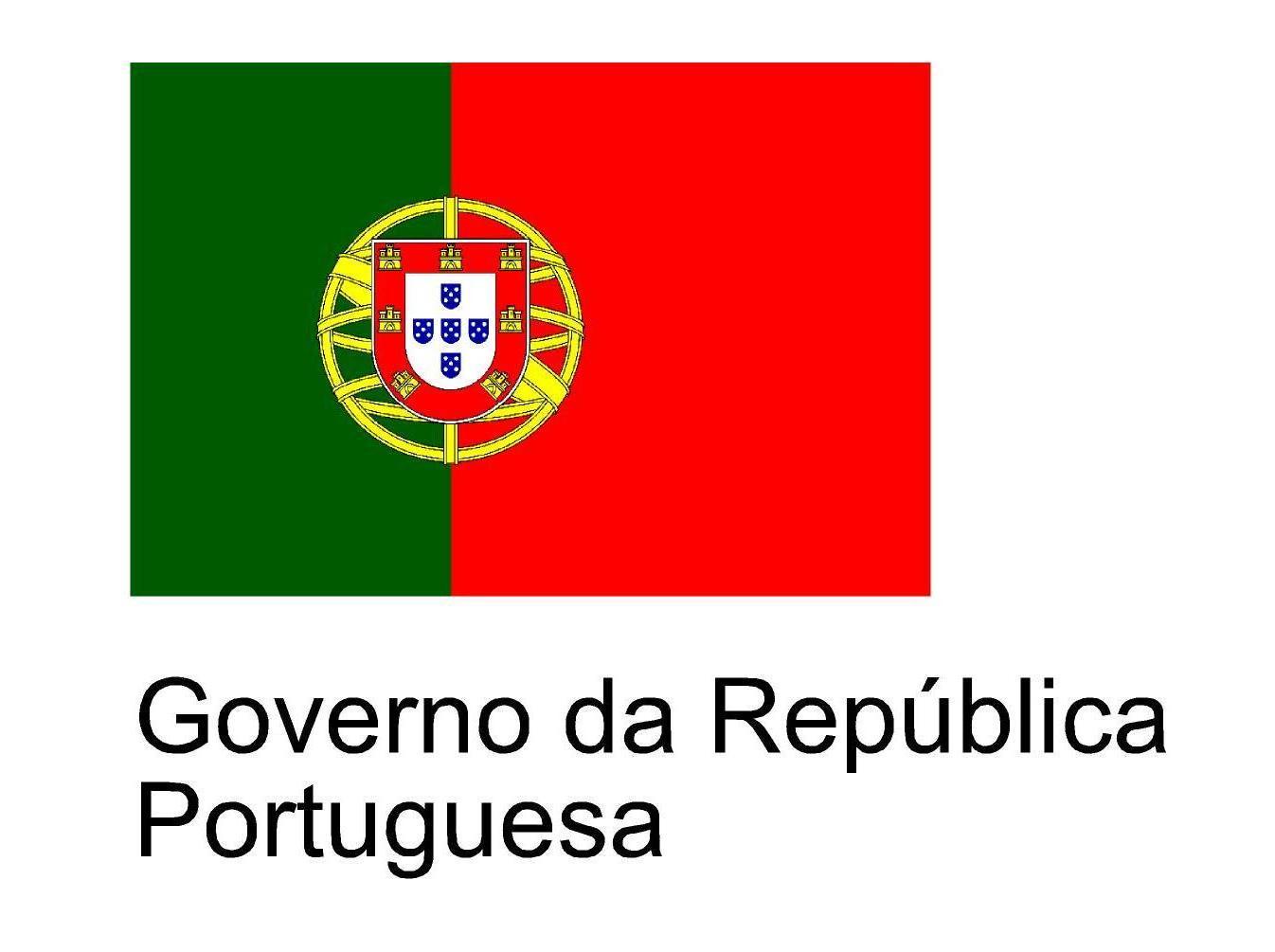 Logo Gobierno de Portugal